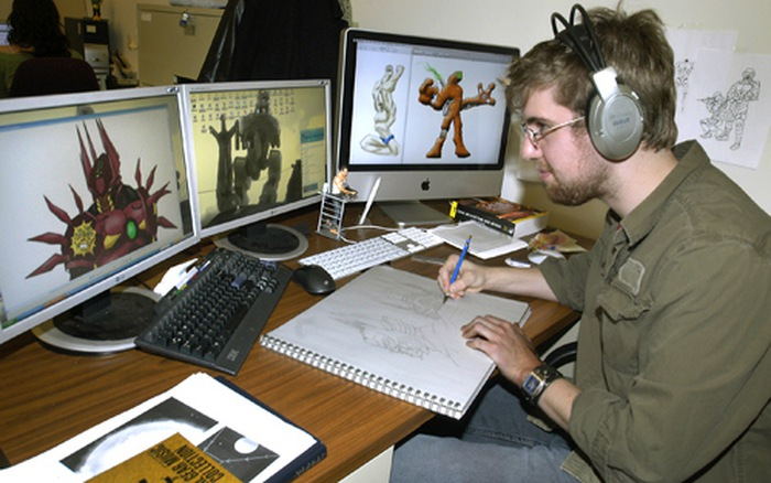 Nghề nghiệp trong ngành công nghiệp trò chơi điện tử